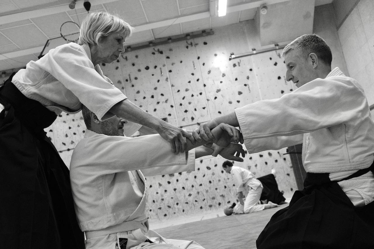 Pratique Cours d'Aïkido - Enseignement